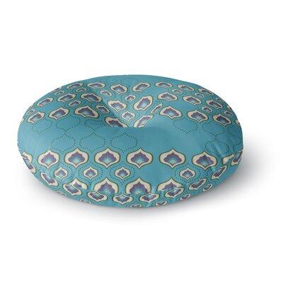 Fernanda Sternieri Happy Path Pattern Round Floor Pillow Size: 23 x 23