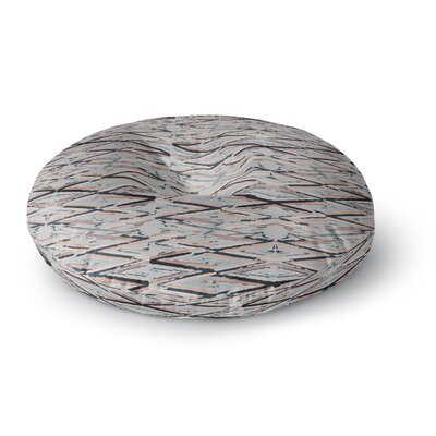 Fernanda Sternieri Move Abstract Round Floor Pillow Size: 26 x 26