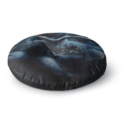 Graham Curran Invictus Round Floor Pillow Size: 26 x 26