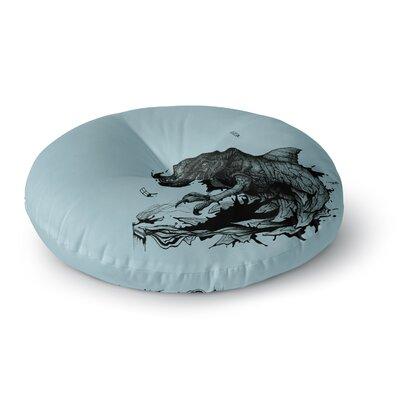 Graham Curran the Blanket II Round Floor Pillow Size: 23 x 23