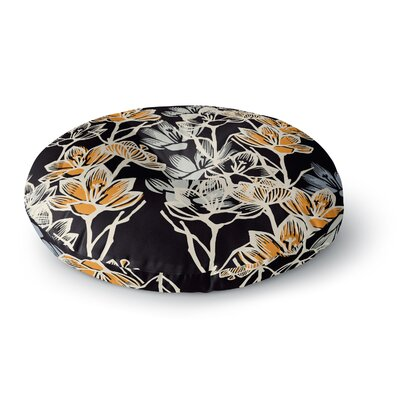 Gill Eggleston Crocus Round Floor Pillow Size: 26 x 26