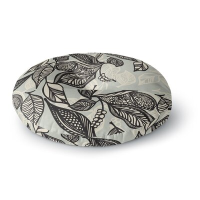 Gill Eggleston Java Leaf Round Floor Pillow Size: 23 x 23