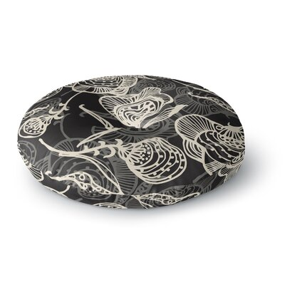 Gill Eggleston Future Nouveau Lite Round Floor Pillow Size: 26 x 26