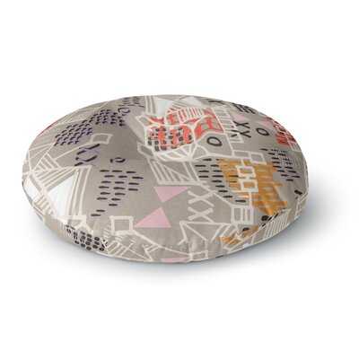 Gill Eggleston Nico Round Floor Pillow Size: 23 x 23