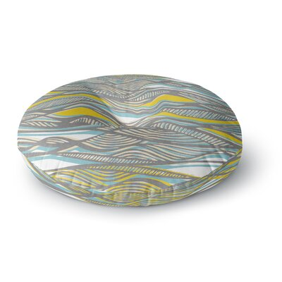 Gill Eggleston Drift Round Floor Pillow Size: 23 x 23