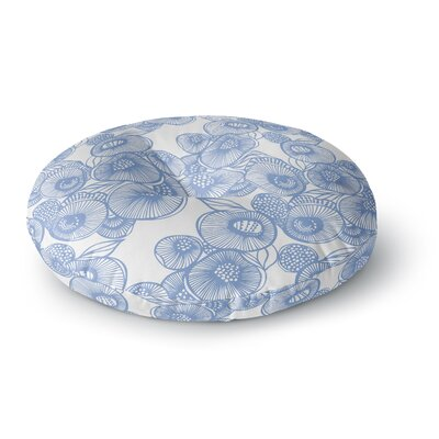Gill Eggleston Fenella Floral Round Floor Pillow Size: 23 x 23