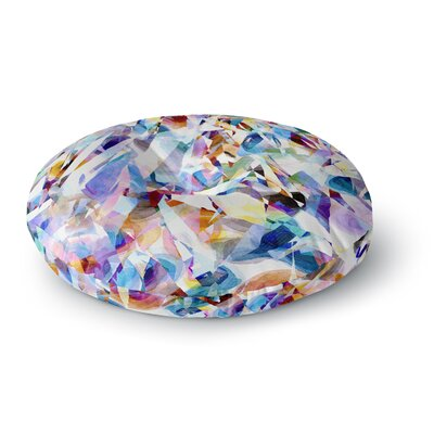 Gabriela Fuente Buzz Round Floor Pillow Size: 23 x 23