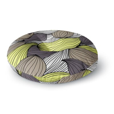 Gabriela Fuente Wild Brush Round Floor Pillow Size: 23 x 23