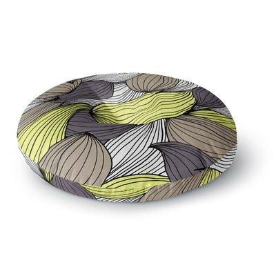 Gabriela Fuente Wild Brush Round Floor Pillow Size: 26 x 26