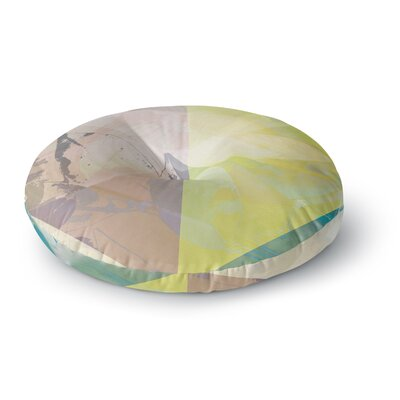 Gabriela Fuente Patch Garden Round Floor Pillow Size: 26 x 26