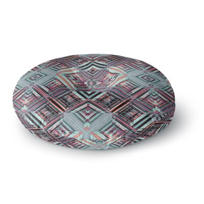 Gabriela Fuente Watercolor Caledoscope Round Floor Pillow Size: 26 x 26