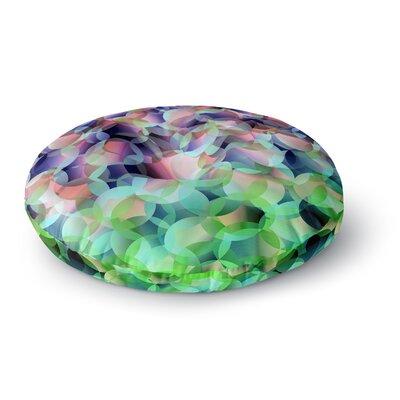 Gabriela Fuente Bubbles Round Floor Pillow Size: 23 x 23