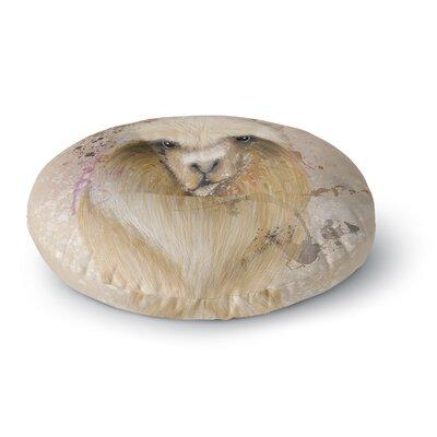 Geordanna Cordero-Fields Llama Me Round Floor Pillow Size: 23 x 23