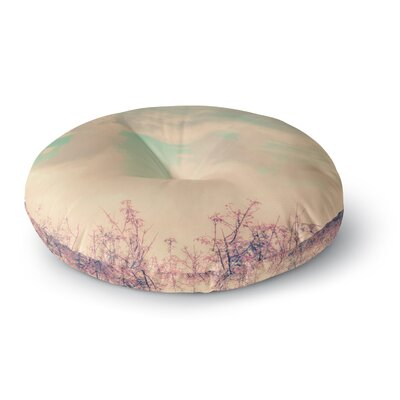 Graphic Tabby Spring Daydream Round Floor Pillow Size: 26 x 26