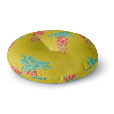 Gukuuki Ipanema Round Floor Pillow Size: 23 x 23