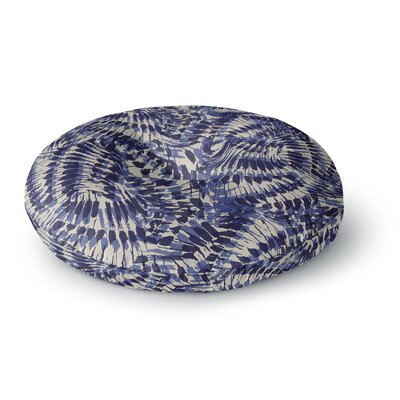Gukuuki Iggy Palms Round Floor Pillow Size: 26 x 26