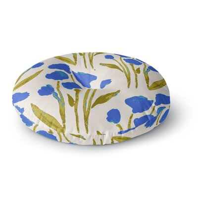 Gukuuki Shirley Gem Round Floor Pillow Size: 23 x 23