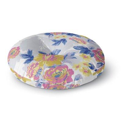 Gukuuki Royal Garden Round Floor Pillow Size: 23 x 23