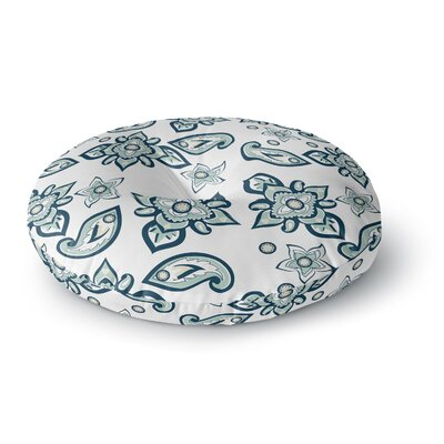 Gukuuki Batik Paisley Round Floor Pillow Size: 26