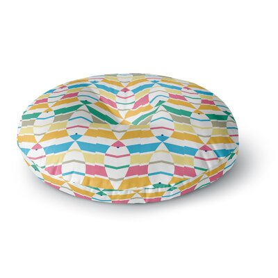 Gukuuki Percy Lemore Pattern Round Floor Pillow Size: 26 x 26