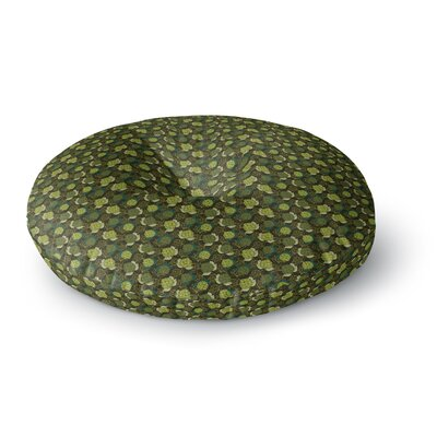 Holly Helgeson Camillia Forest Round Floor Pillow Size: 26 x 26