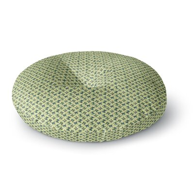 Holly Helgeson Flutterby Round Floor Pillow Size: 23 x 23