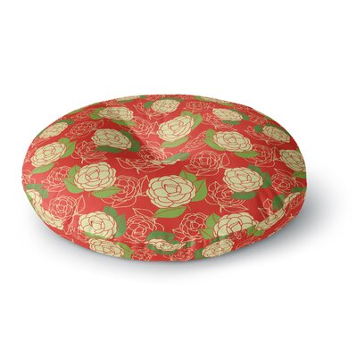 Holly Helgeson Cammelia Round Floor Pillow Size: 26 x 26