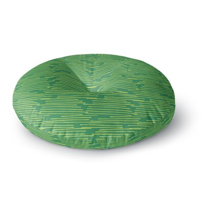 Holly Helgeson Twiggy Round Floor Pillow Size: 26 x 26