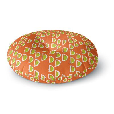 Holly Helgeson Geo Seed Round Floor Pillow Size: 23 x 23