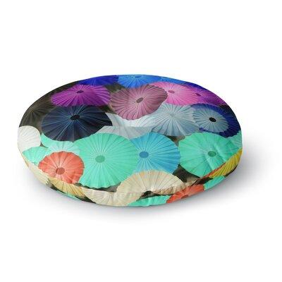 Heidi Jennings Graceful Round Floor Pillow Size: 26 x 26