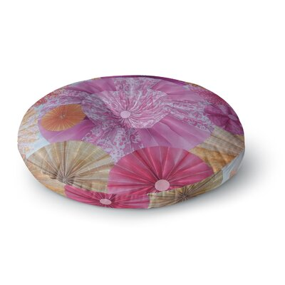 Heidi Jennings Blossoming Round Floor Pillow Size: 26 x 26