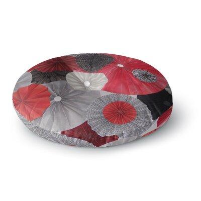 Heidi Jennings Kyoto Round Floor Pillow Size: 26 x 26