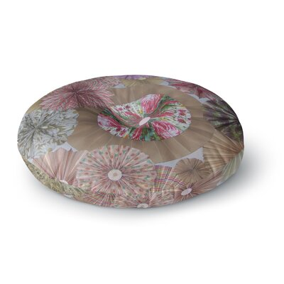 Heidi Jennings Lady Round Floor Pillow Size: 26