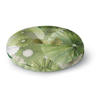 Heidi Jennings Thumb LimeRound Floor Pillow Size: 23