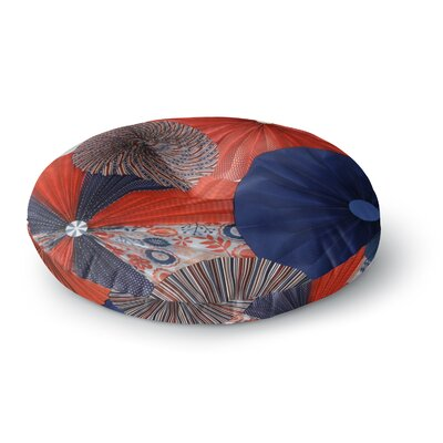 Heidi Jennings Liberty Round Floor Pillow Size: 26 x 26