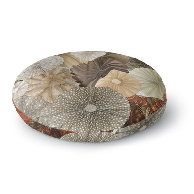 Heidi Jennings Dusty Road Round Floor Pillow Size: 26 x 26
