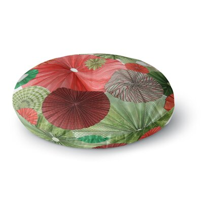Heidi Jennings Christmas Remix Holiday Round Floor Pillow Size: 23