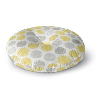 Heidi Jennings Sunspot Spots Round Floor Pillow Size: 23 x 23