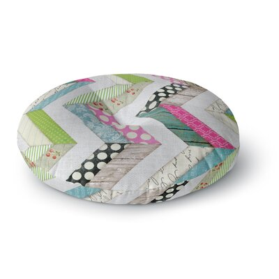 Heidi Jennings Fabric Much Cloth Round Floor Pillow Size: 26 x 26