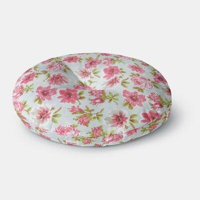 Heidi Jennings Petals Forever Round Floor Pillow Size: 23 x 23