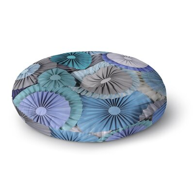 Heidi Jennings Brunch at Tiffanys Round Floor Pillow Size: 23 x 23