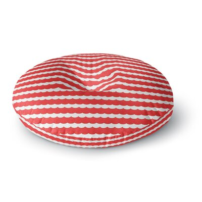 Heidi Jennings Feeling Festive Round Floor Pillow Size: 23 x 23