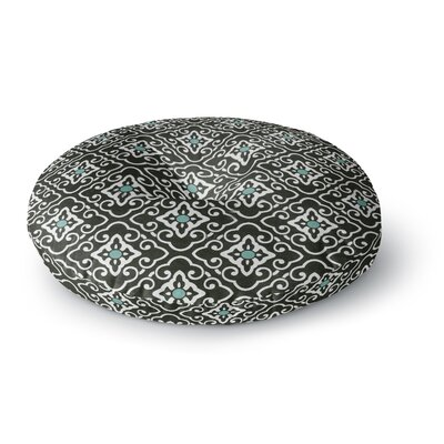 Heidi Jennings Geometric Round Floor Pillow Size: 26