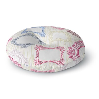 Heidi Jennings I've Been Framed Round Floor Pillow Size: 26