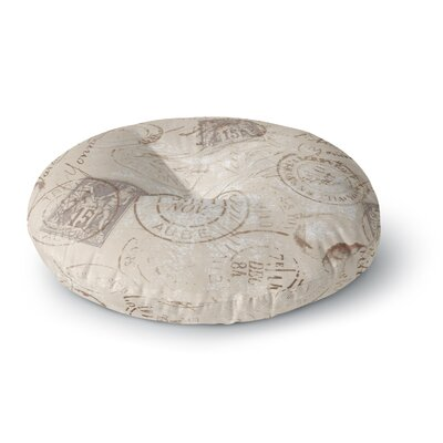 Heidi Jennings World Traveler Round Floor Pillow Size: 23