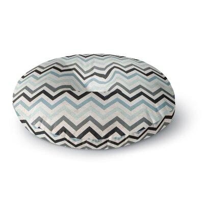Heidi Jennings Chevron Round Floor Pillow Size: 26 x 26