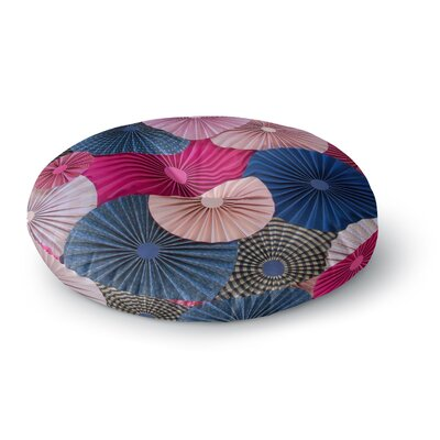 Heidi Jennings MagentaRound Floor Pillow Size: 23 x 23
