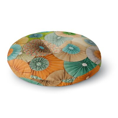 Heidi Jennings Summer Party Round Floor Pillow Size: 23 x 23