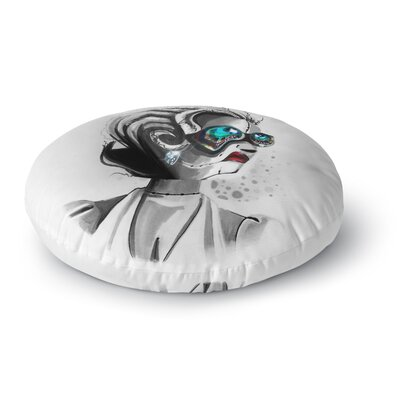 Ivan Joh Miss Monroe Round Floor Pillow Size: 23 x 23