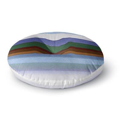Ivan Joh Alaska Round Floor Pillow Size: 26 x 26